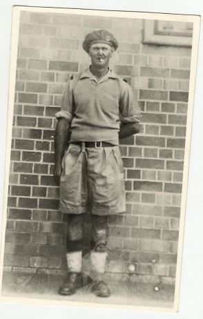 Oupa in Army